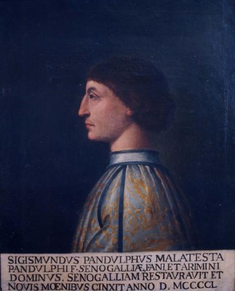 Sigismondo Malatesta - Ritratto (presente nella Sala Consigliare del Comune di Senigallia)