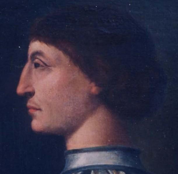 Sigismondo Malatesta - Ritratto (particolare)