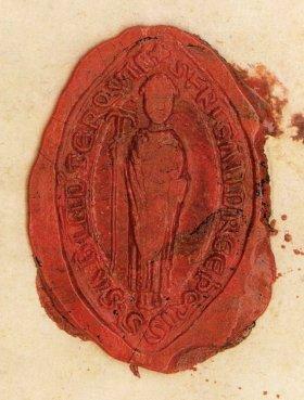 Impronta del sigillo nel messaggio di Gasparo Arsilli