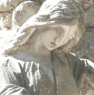 Cimitero di Senigallia - Tomba della famiglia Battaglia (particolare)