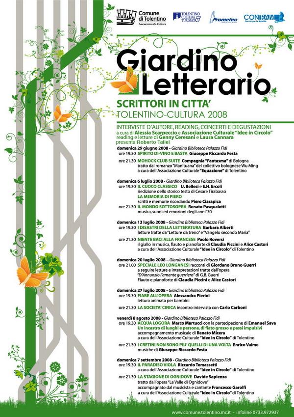 Giradino Letterario - Tolentino
