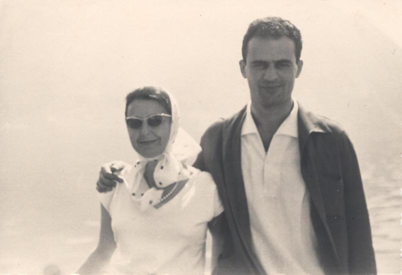Wanda Coen e il marito Manlio badioli