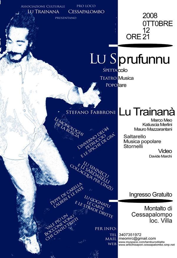 Lu Sprufunnu - 12 ottobre 2008
