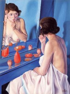 Donna allo specchio - Cagnaccio