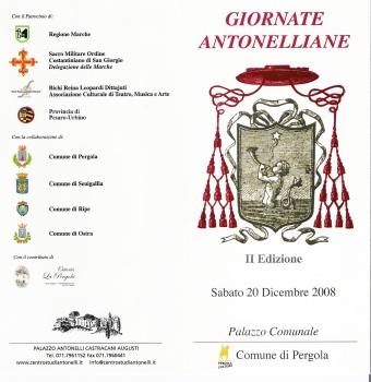 Giornate Antonelliane - 20 dicembre 2008