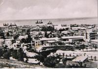 Latakia - Veduta delle navi a vela
