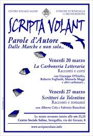 Scripta Volant - Parole d'Autore, dalle Marche e non solo...