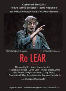 Re Lear a Senigallia con Mariano Rigillo